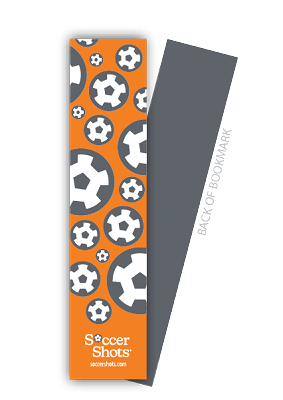 Bookmark - Soccer Balls Design