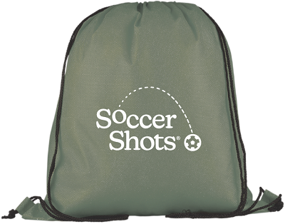 Evergreen Non-Woven Drawstring Bag - 1 Color