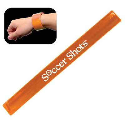 Reflective Safety Slap Bracelet