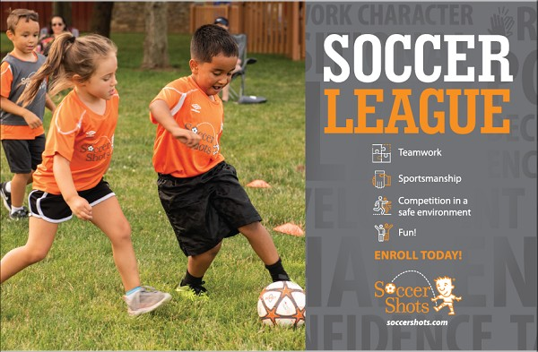"8.5"" x 5.5"" SOCCER LEAGUE Postcard - Upload Your Own Design for Back"