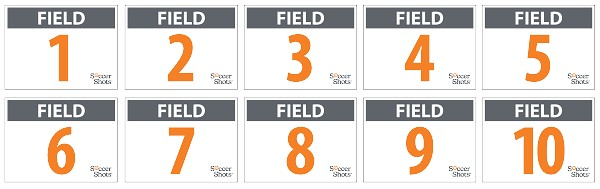 "18"" x 24"" Yard Sign - Field Signs Bundle - Single Sided"