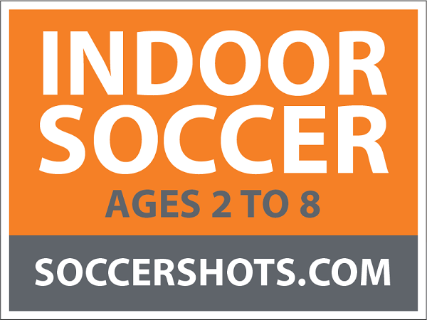 "18"" x 24"" Yard Sign - Indoor Soccer - Ages"