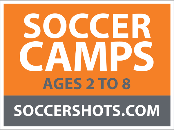 "18"" x 24"" Yard Sign - Soccer Camps - Ages"